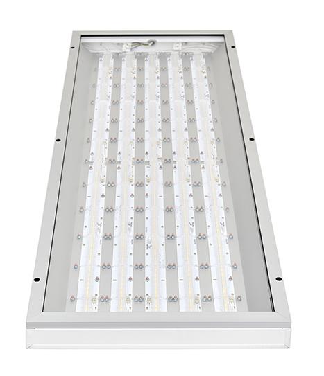 Indax -teollisuusvalaisin on lämpimien tuotanto- ja varastotilojen yleisvalaisin.