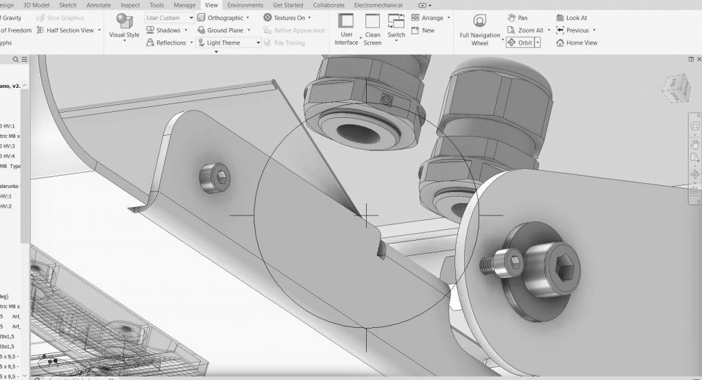 Greon Oy:ssä suunnittelutyökaluilla varmistamme rakenteiden ja osien yhteensopivuuden ja valmistettavuuden.